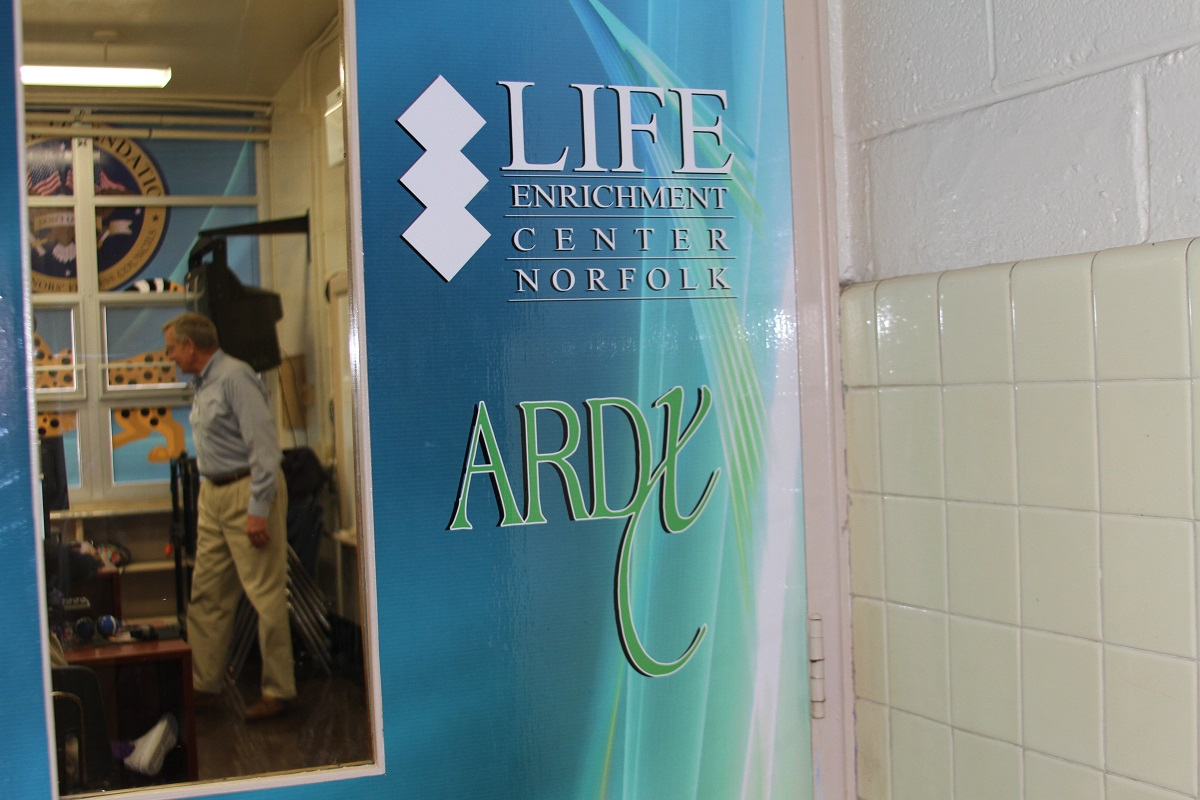 ARDX LEC Lab Door at Chesterfield
